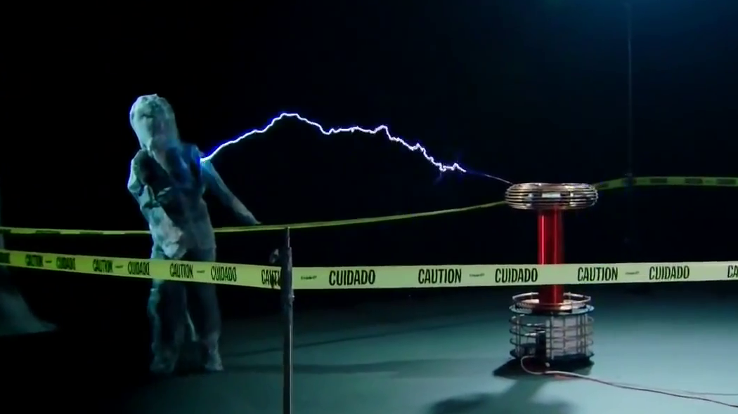 Zeusaphone Discovery Channel Tesla coil